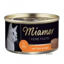 Miamor Feine Filets 100g tuńczyk i ser w galarecie