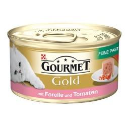 GOURMET GOLD 85g - Pstrąg z pomidorami pasztet