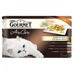 GOURMET A La Carte mix 4-pak  4x85g