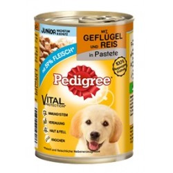 PEDIGREE 400g Junior - Pasztet z drobiem i ryżem