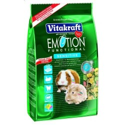 Vitakraft Emotion Sensitive 600g- Pokarm dla świnek