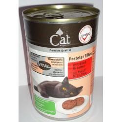 CAT PREMIUM 400g- Wołowina z wątróbką pasztet