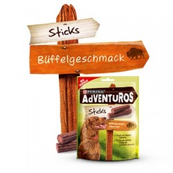 PURINA Adventuros Sticks 120g z bawoła