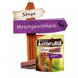PURINA Adventuros Strips 120g z jelenia