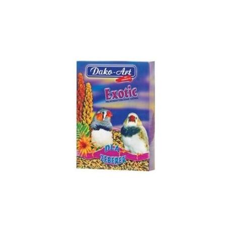 DAKO-ART EXOTIC 500g pokarm dla zeberek