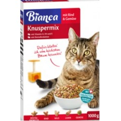 Bianca 1kg sucha karma- Wołowina z warzywami