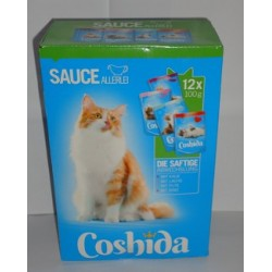 Coshida 12 x 100 g - Mix mięs w sosie