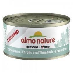 Almo Nature puszka 70g- Pstrąg tuńczyk