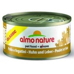Almo Nature puszka 70g- Kurczak z wątróbką drobiową