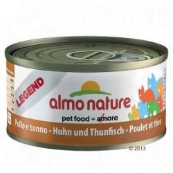 Almo Nature puszka 70g- Kurczak tuńczyk