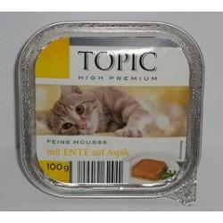 TOPIC szalka 100g- mus z kaczki w galarecie
