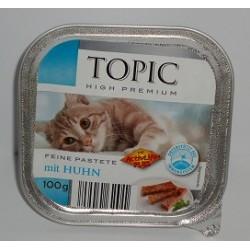 TOPIC szalka 100g pasztet z kurczakiem