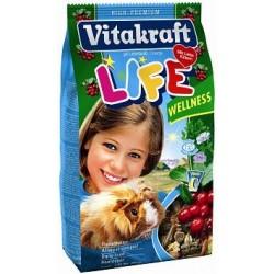 Vitakraft Life Wellness pokarm dla świnki morskiej 600g