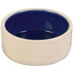 Trixie miska ceramiczna kremowo - niebieska