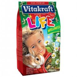 Vitakraft Life Wellness pokarm dla królika 600g