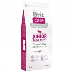 BRIT 12kg Care Junior Large Breed Lamb and Rice