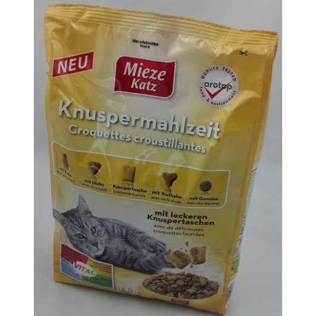 Mieze Katz - sucha karma 1kg z drobiem i warzywami