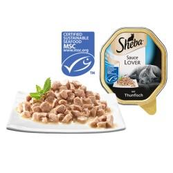 SHEBA 100g szalka - Pasztet z łososia