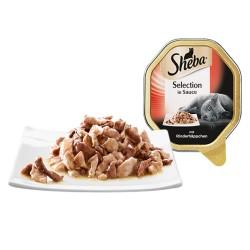 SHEBA 100g szalka - Wołowina w sosie