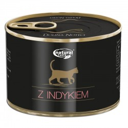 Dolina Noteci NATURAL TASTE CAT z indykiem 185 g