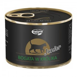 Dolina Noteci Junior NATURAL TASTE CAT królik 185 g