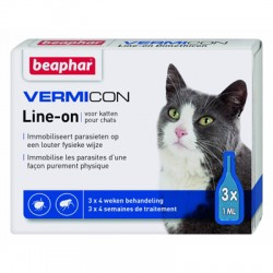 BEAPHAR VERMICON Spot-on Cat 3 x 1 ml