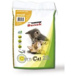 Benek Corn Cat Naturalny 7l - zbrylający bezzapachowy