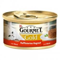 GOURMET GOLD 85g - Kawałki wołowiny w sosie