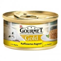 GOURMET GOLD 85g - Kawałki kurczaka w sosie