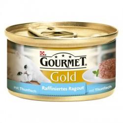GOURMET GOLD 85g - Kawałki tuńczyka w sosie