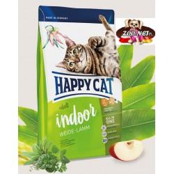 Happy Cat Indoor dla kotów domowych z jagnięciną