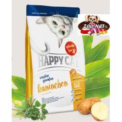 Happy Cat Sensitive- Bezzbożowa- Królik