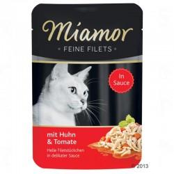 Miamor Feine Filets 100g kurczak i pomidory
