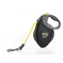 Flexi Smycz GIANT taśma M 8m/ 25kg - Neon