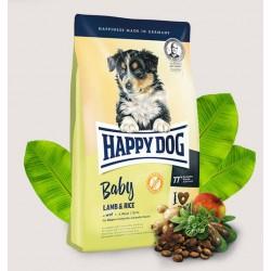 Happy Dog Baby- karma dla szczeniąt średnich i dużych ras,jagnięcina i ryż
