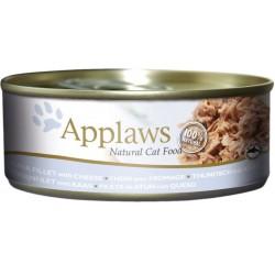 Applaws 156g bulion z tuńczykiem i serem