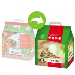 Cat's Best Eco Plus 40 litrów, żwirek zbrylający