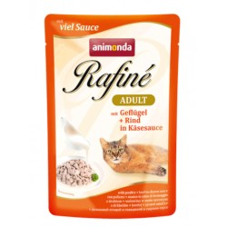 Animonda Rafine Soupe 100g Drób z wołowiną w sosie serowym