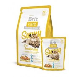 BRIT CARE hipoalergiczna formuła dla kotów wymagających szczególnej pielęgnacji sierści ŁOSOŚ I RYŻ