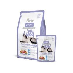 BRIT CARE hipoalergiczna formuła dla dorosłych kotów z wrażliwym przewodem pokarmowym JAGNIĘCINA Z ŁOSOSIEM