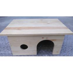 Domek Drewniany prosty wys. 22 cm