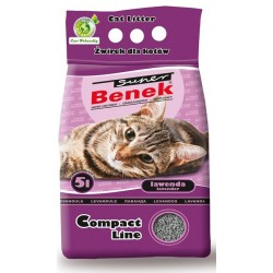 Benek 5l Compact zapach Lawenda