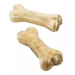 Kość do gryzienia z nadzieniem ze żwaczy wołowych 12 cm