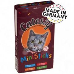 Catessy Mini Sticks przekąska dla kota, 4 różnych smaków