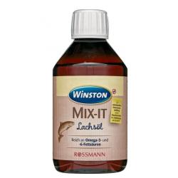 """Winston """"Olej z łososia"""" Mit-It 250ml- Witaminy Omega 3 i 6"""