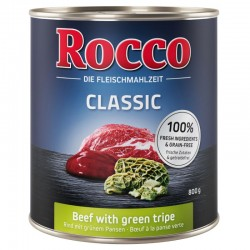 Rocco 800g Wołowina i żwacze