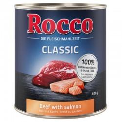 Rocco 800g Wołowina z łososiem