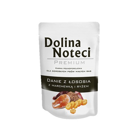 Dolina Noteci Premium 100g Danie Łosoś marchewka ryż