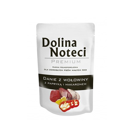 Dolina Noteci Premium 100g Danie Wołowina papryka makaron