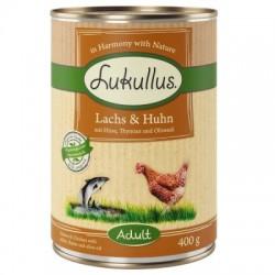 Lukullus Natural 400g- Łosoś kurczak